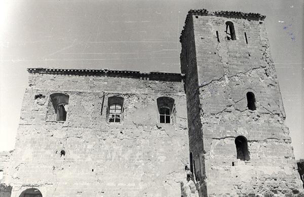 Exterior de la iglesia. 1979