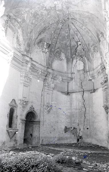 Iglesia. Ábside. 1979