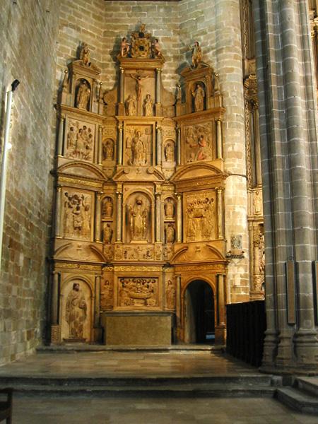 Ábside norte. Altar de San Ramón