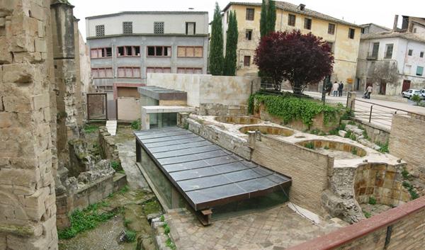 Entorno. Jardín arqueológico