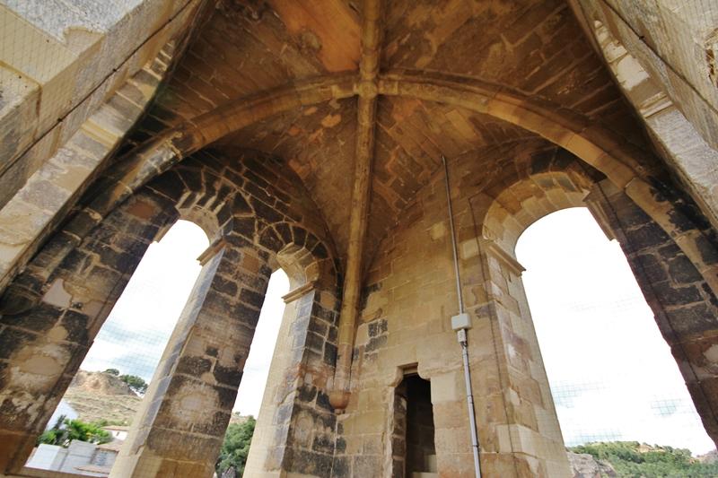 Interior torre campanario