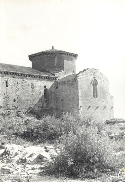 Vista meridional anterior a la restauración