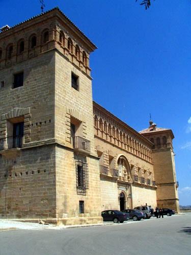 Palacio del Comendador. Fachada del siglo XVIII