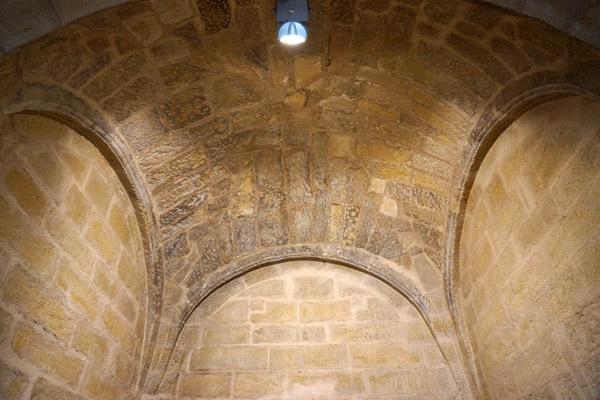 Bóveda de la capilla del segundo tramo