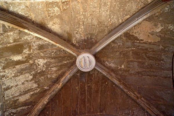 Bóveda de una sacristía