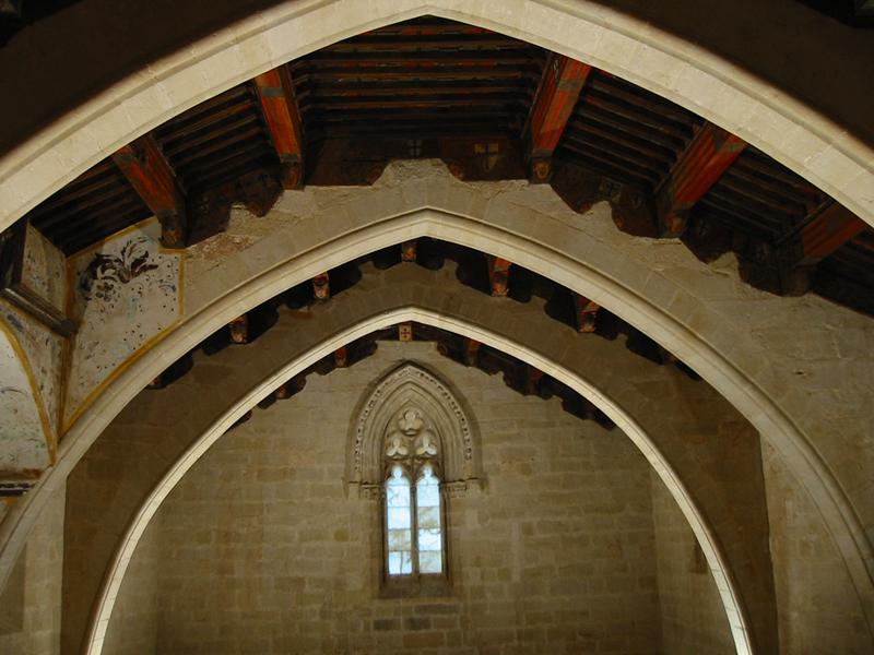 Ermita medieval. Interior