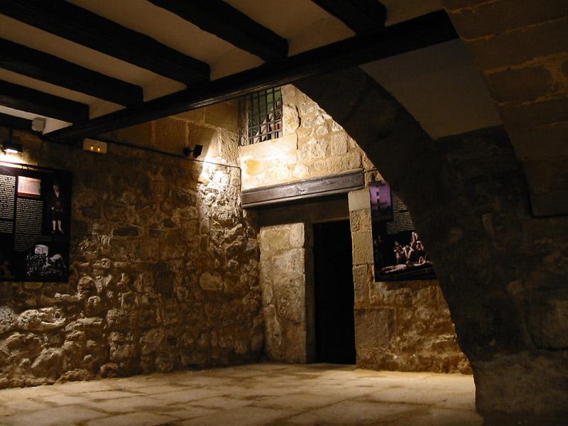 Interior del porche