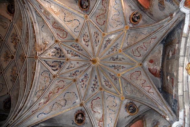 Bóveda del coro
