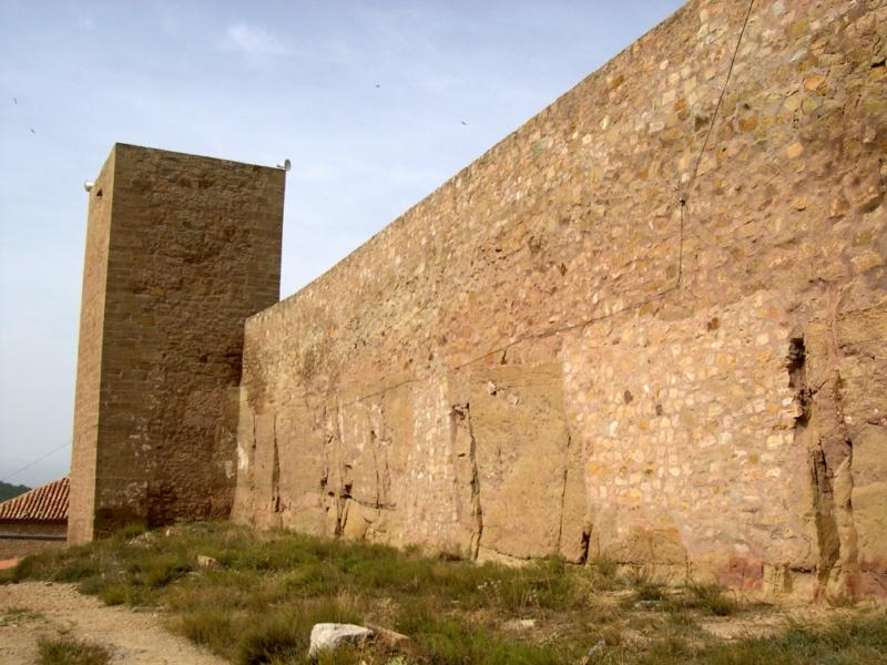 Muralla segundo recinto