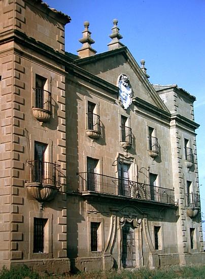 Fachada del palacio