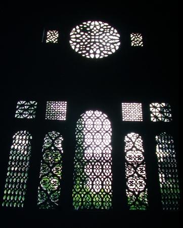 Vista de uno de los tramos del claustro