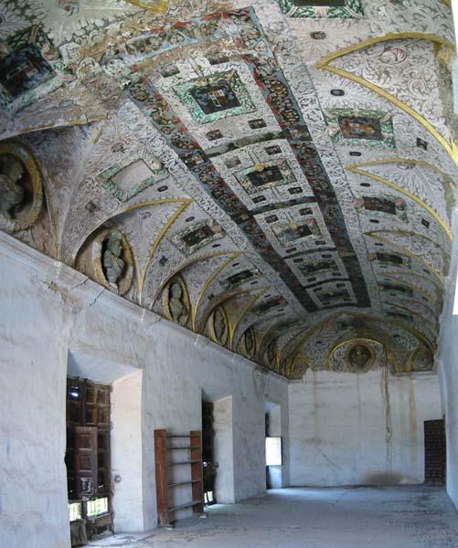Salón pintado