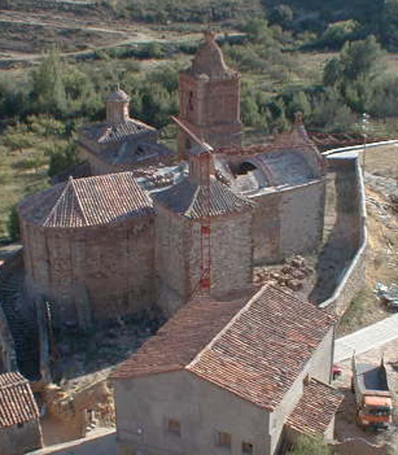Vista exterior iglesia