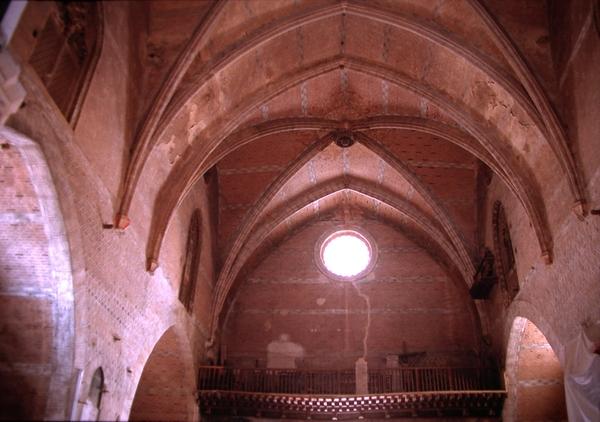 Vista de las bóvedas