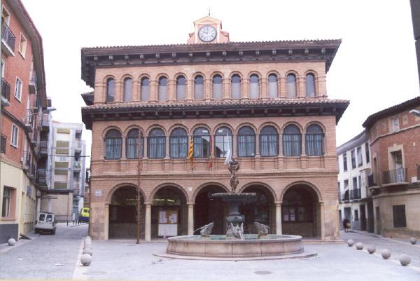 Fachada principal Plaza de España