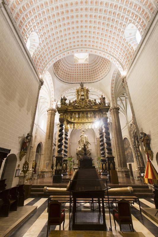 Altar Mayor. Sillería
