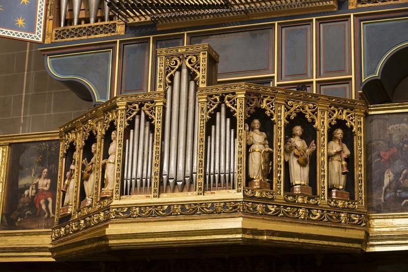 Decoración retablo coro