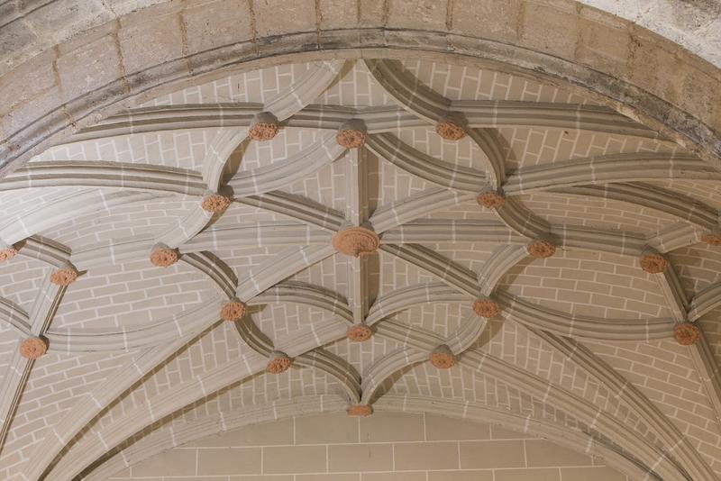 Bóvedas capilla Epístola