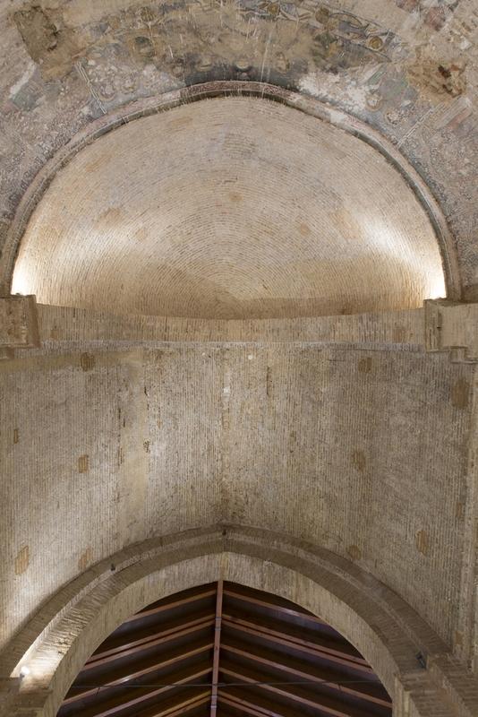 Bóveda cuarto de esfera