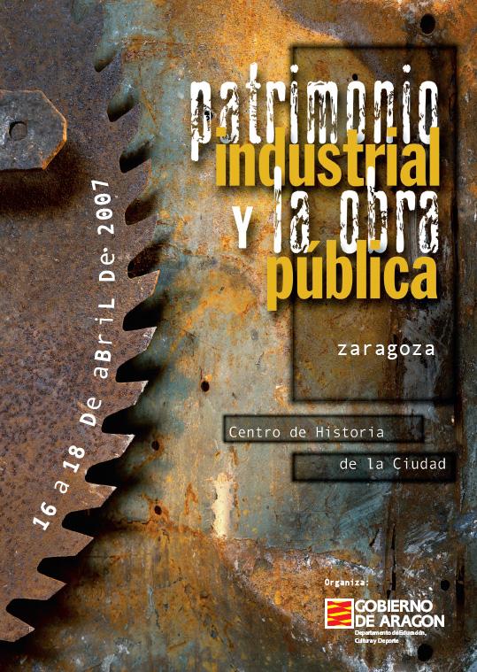 Jornadas. Patrimonio industrial y obra pública