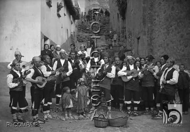 Música tradicional. Archivo Rafael Ayerbe