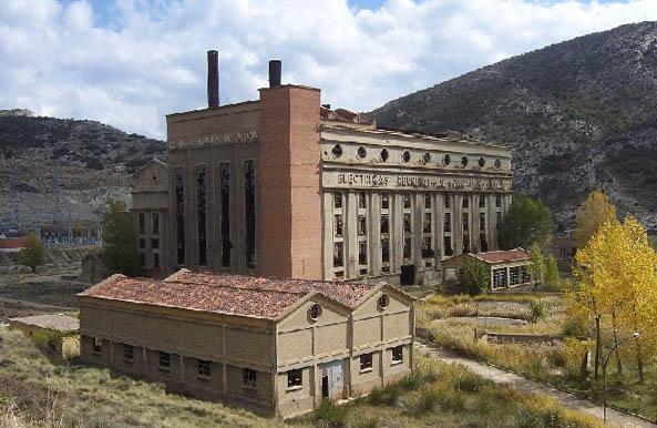 Inventario de patrimonio industrial y obra pública de Aragón