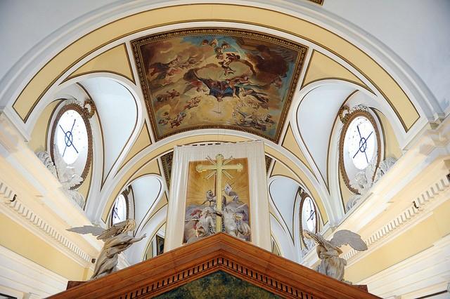 Interior de la iglesia de Santa María la Mayor de Épila (1782). Foto: Gobierno de Aragón