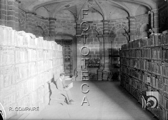 Sala de Doña Petronila. Ricardo Compairé. 1920-1930. Fototeca de la Diputación de Huesca