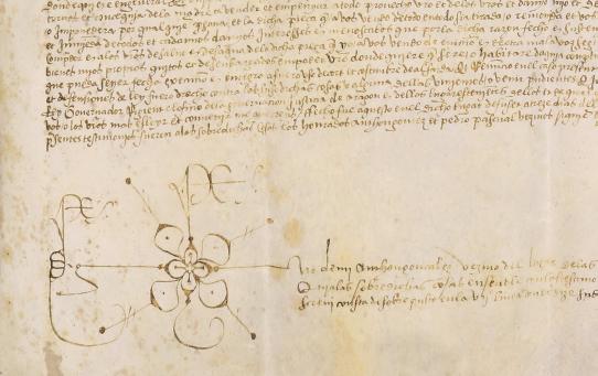 El documento más antiguo del fondo, fechado en 1507