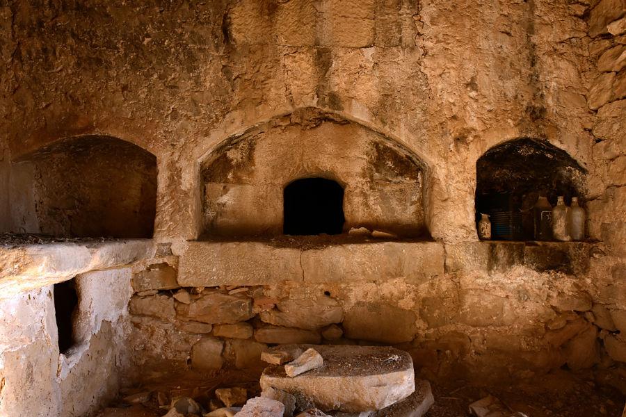 Horno de pan en el mas de Vicente. Ráfales