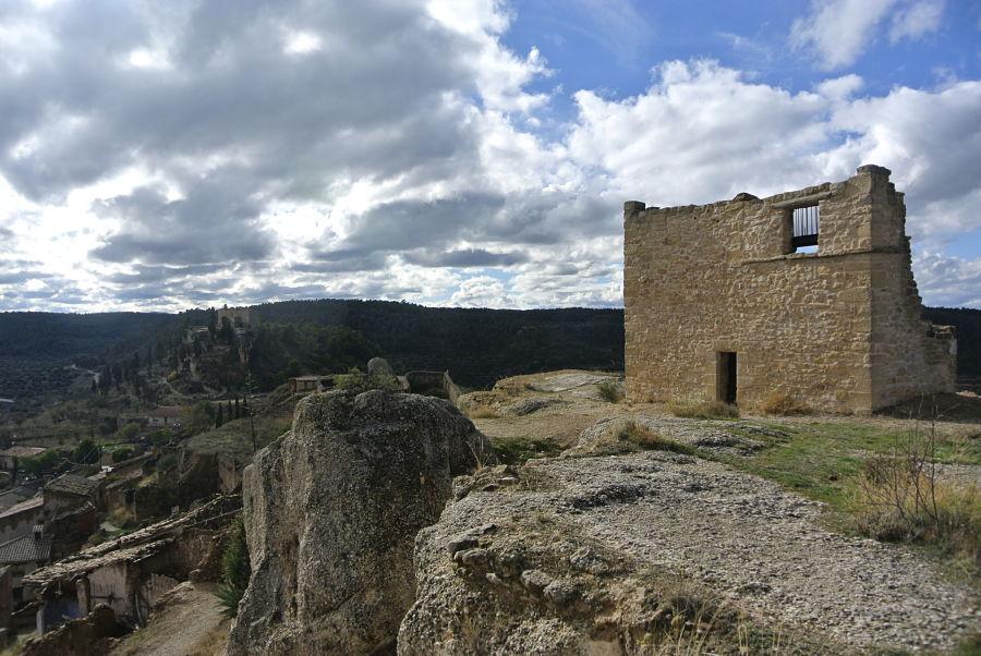 Restos del castillo calatravo de La Fresneda