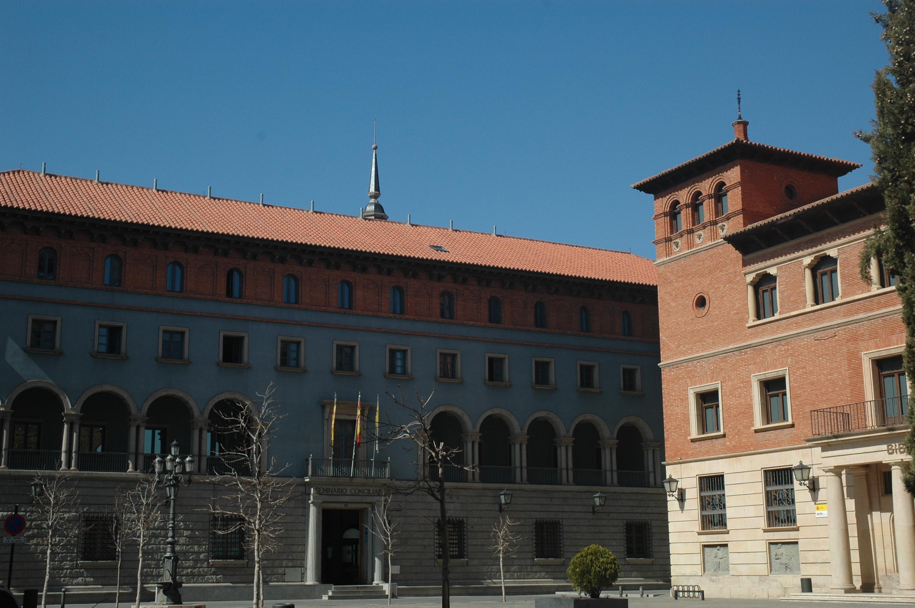 Seminario y antigua Casa de Cultura. Teruel