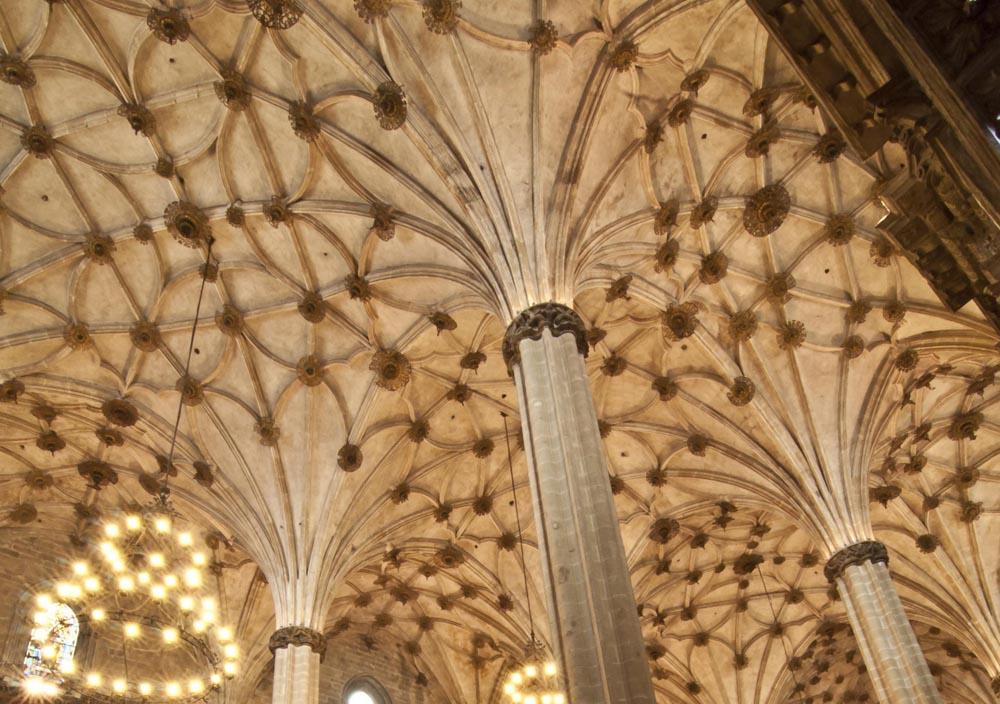 Bóvedas de la catedral de Barbastro. Foto: Museo Diocesano de Barbastro-Monzón