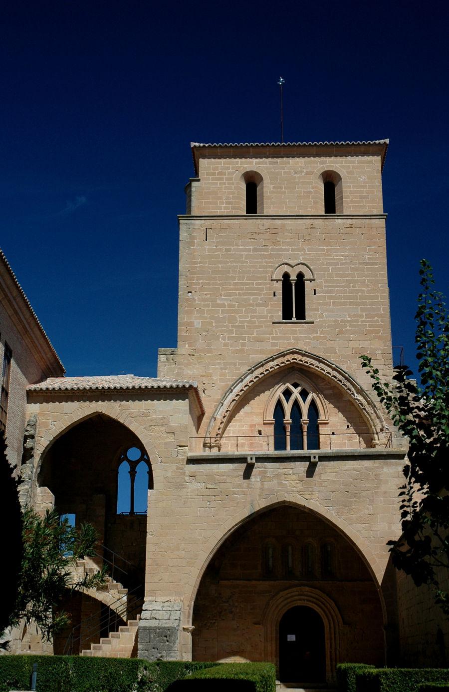 Torre del Homenaje e iglesia del castillo de Alcañiz