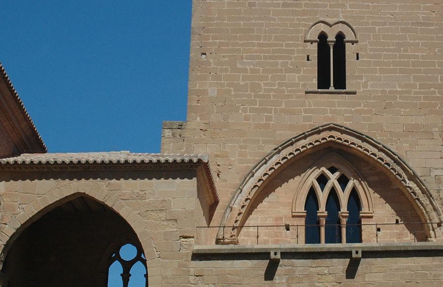 Elementos góticos en el castillo calatravo de Alcañiz