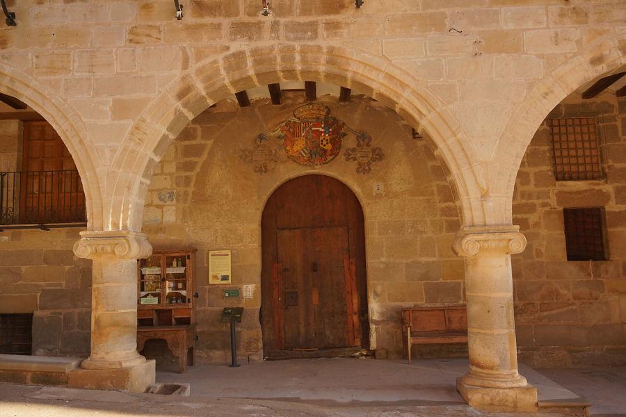Casa de la Encomienda de La Fresneda (siglo XVI)