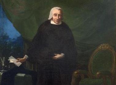 Retrato de Antonio Veián y Monteagudo por Francisco de Goya. Fondos de la Universidad Sertoriana en el Museo de Huesca