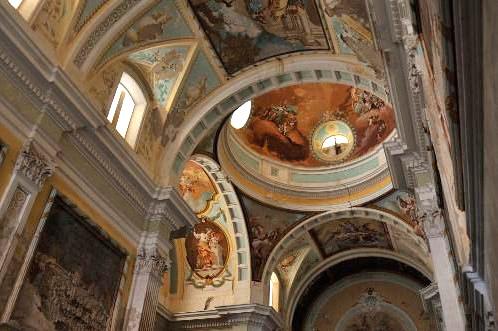 Cartuja de Nuestra Señora de las fuentes. Iglesia. Fotografía: Diputación de Huesca