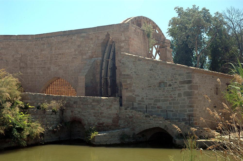 Molino y norial del monasterio de Rueda