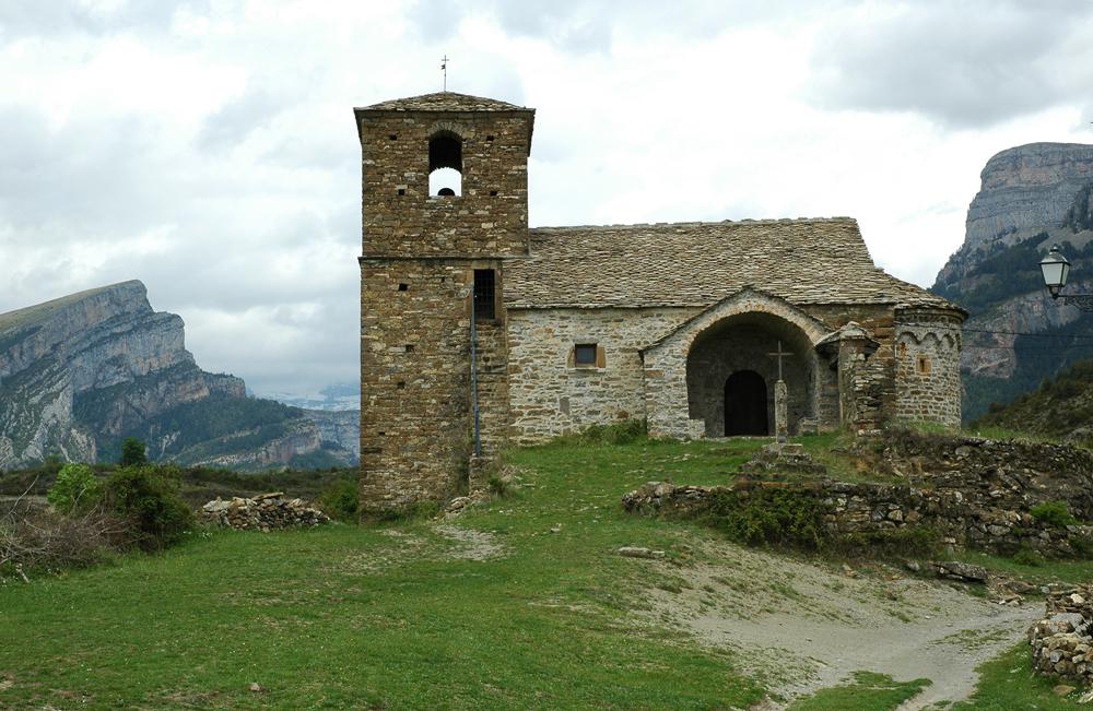 Iglesia de San Vicente de Vio. Foto: Francisco Bolea