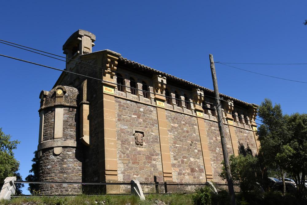 La ermita de Santa María, construida por Severino Bello en 1914