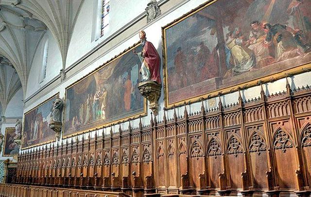 Cartuja de Aula Dei. Iglesia y coro