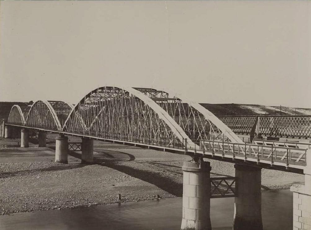 La obra más emblemática de Joaquín de Pano: puente sobre el Cinca en Monzón