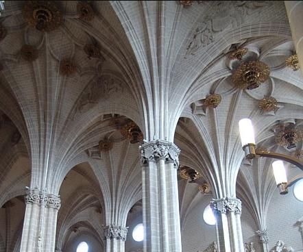 Interior de la Seo: la reforma del siglo XVI. Foto: Gobierno de Aragón