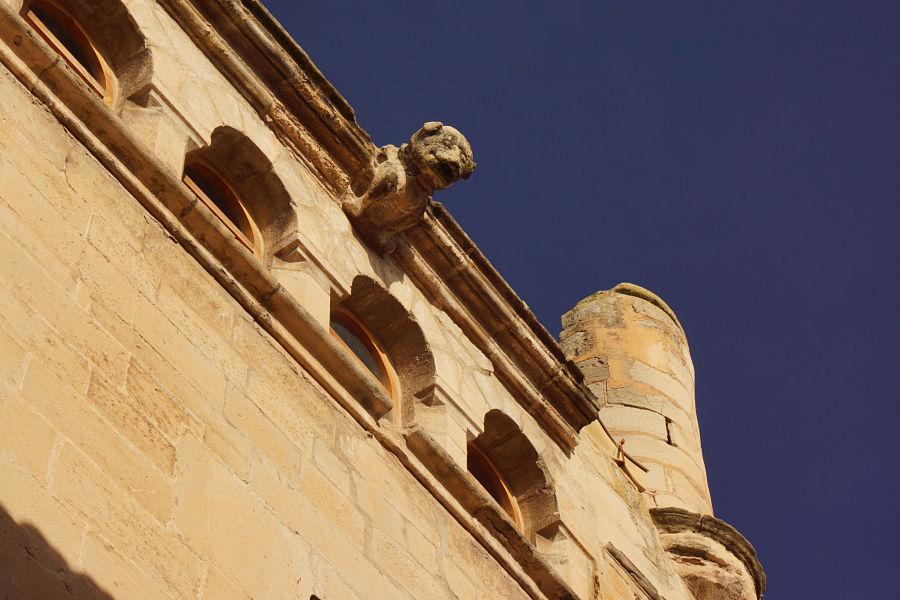 Casa consistorial de La Fresneda: una cárcel para delincuentes pudientes. Foto: Comarca del Matarraña