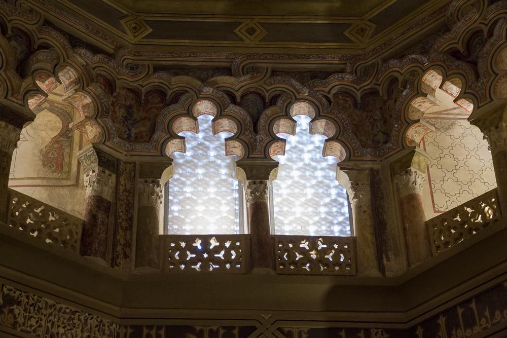 Mezquita del palacio de la Aljafería. Foto: José Damián Aguado Ruiz