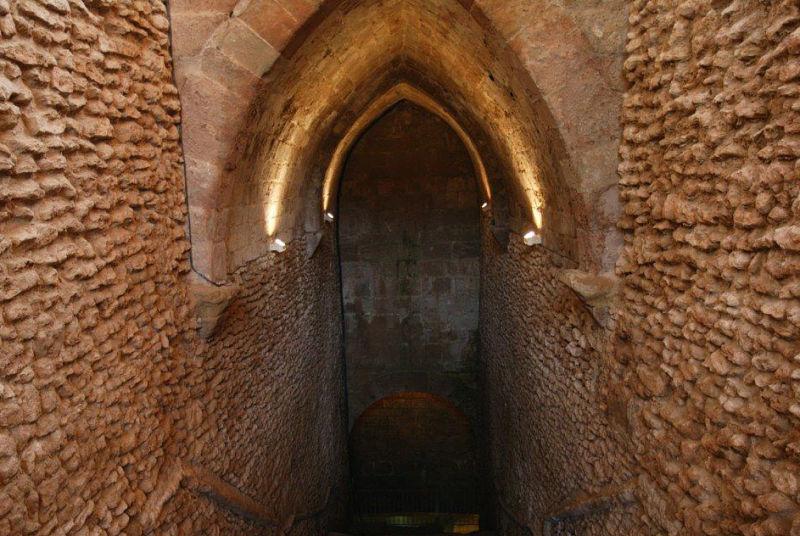 Pozos fuente: Laluenga. Archivo de la Comarca del Somontano de Barbastro