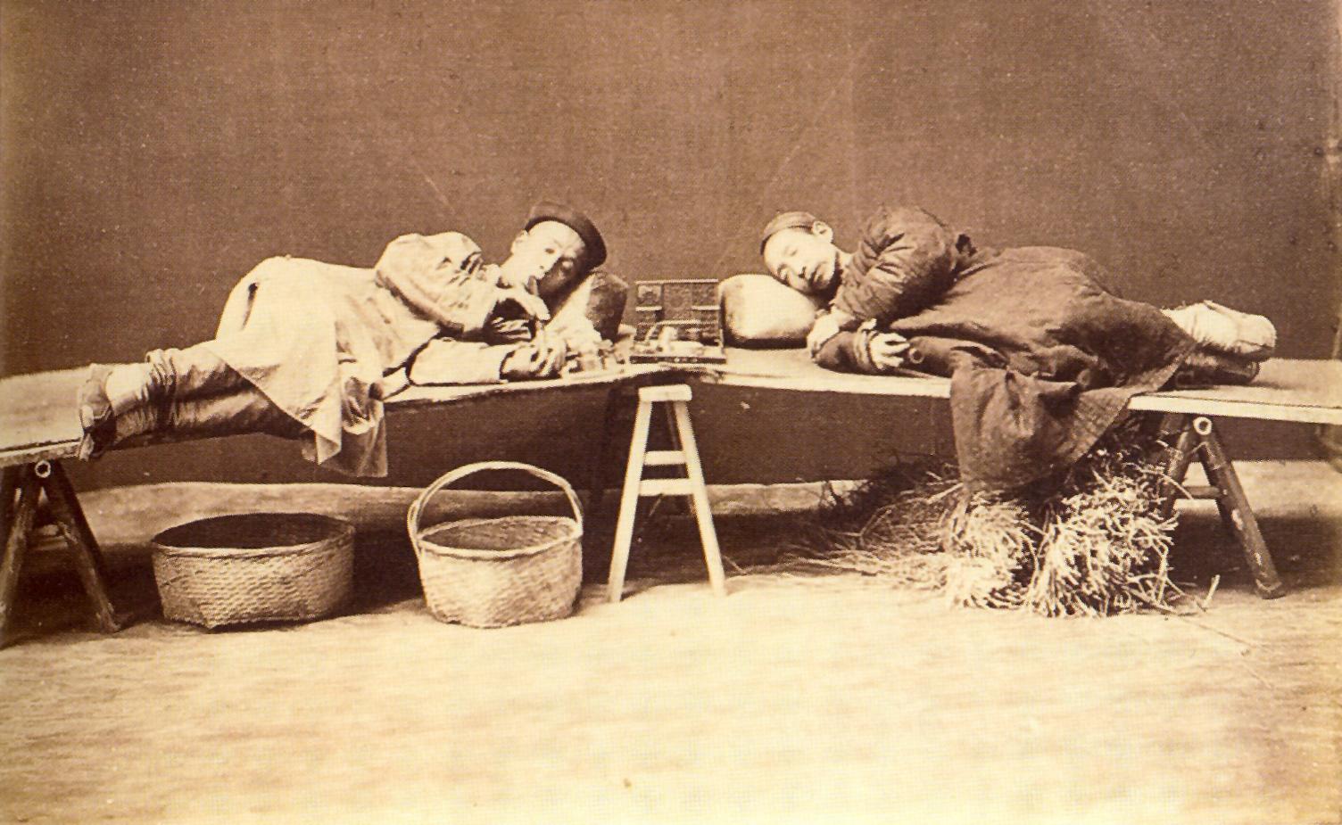 Fumadores de opio