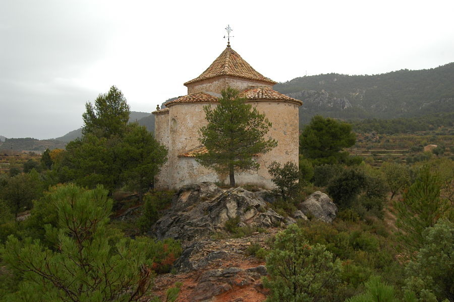 Ermita dedicada a Santa Bárbara en Fuentespalda