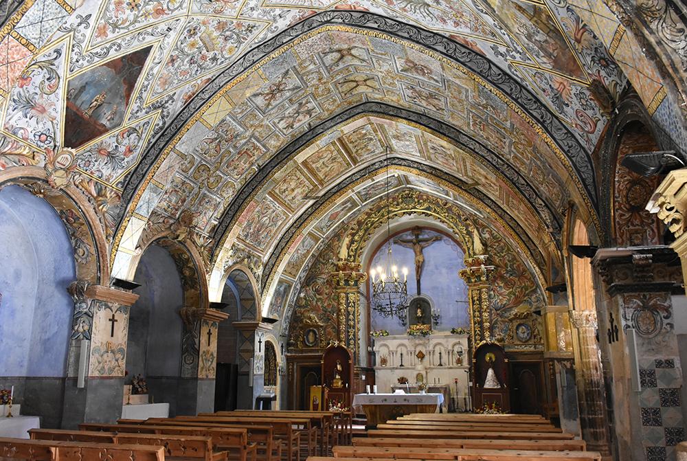 La iglesia de Bordón, construida por el comendador templario de Castellote y redecorada en el siglo XVIII